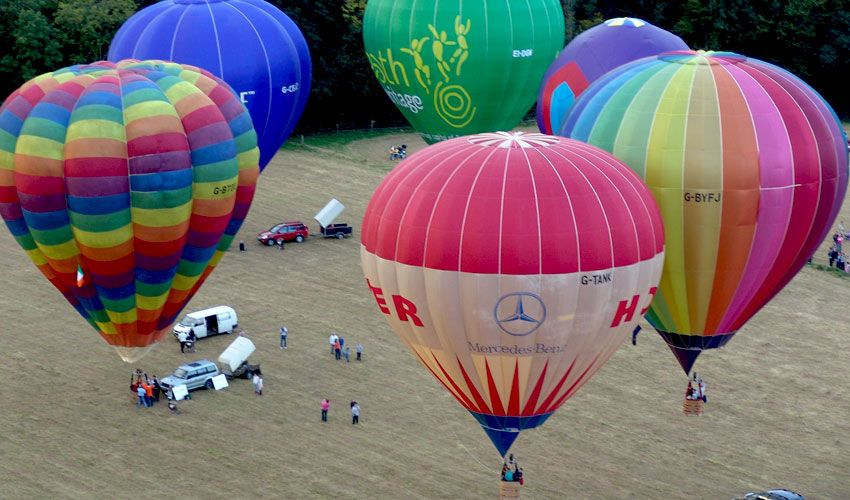 Irish Hot Air Ballooning Championships Partner With ViewRanger