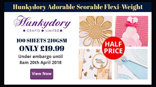 Hunkydory - Half Price