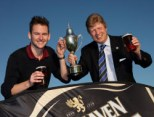 Kevin Forsyth & Ian Neil (Strathaven GC) 2011 winners (PHOTO: ANDY FORMAN)