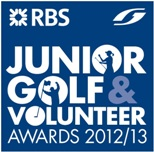 RBS Junior Golf & Volunteer Awards logo