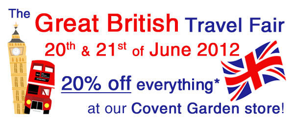 20% off everything in our Covent Garden Store!
