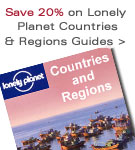 Save 20% on Lonely Planet - Countries and Regions Guides