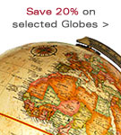 Save 20% on selected Globes