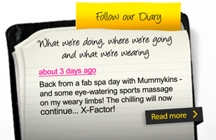 Follow our diary