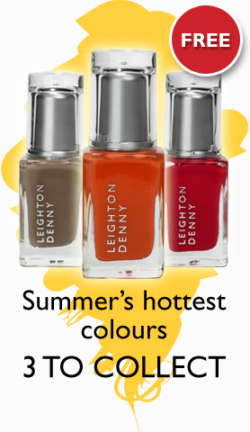 Summer's hottest colours - 3 TO COLLECT