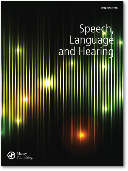 Speech, Language and Hearing