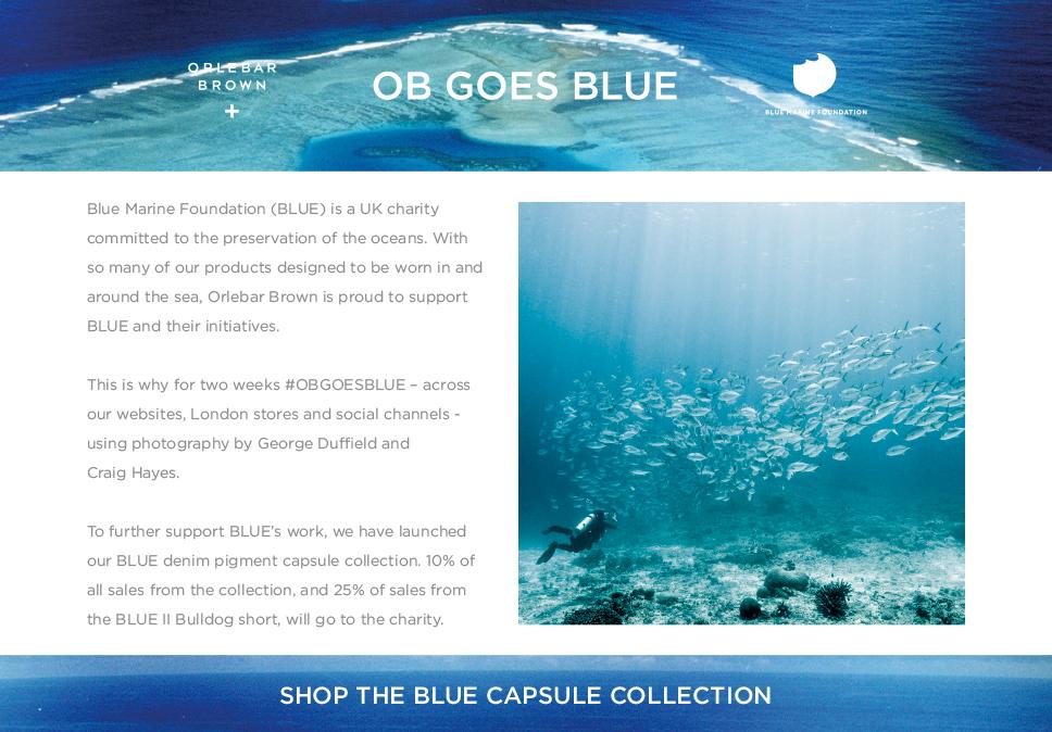 OB Goes Blue