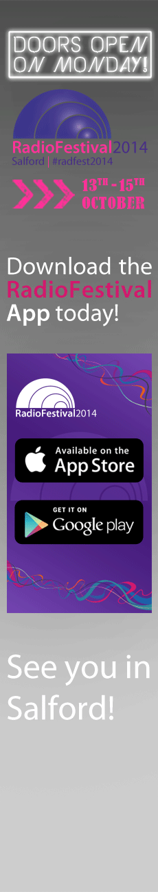 Radio Festival 2014 - download the App today!
