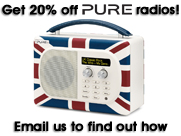 Get 20% off Pure radios!