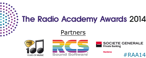 Radio Academy Awards 2014 - Have you got your tickets yet?
