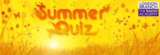 London Branch Summer Quiz - book now!