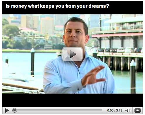Is money what keeps you from your dreams?