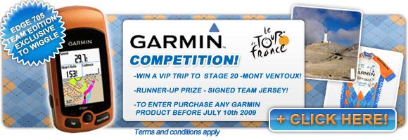 Garmin Edge 705 Team Edition Competition