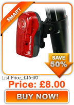 Smart 1/2 Watt 3 LED Rear Light only £8.00