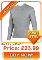 Castelli PolyPro Mid L/S Base Layer only £23.99