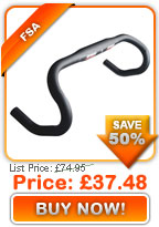 FSA Energy New Ergo Handlebars 2009 only £37.48