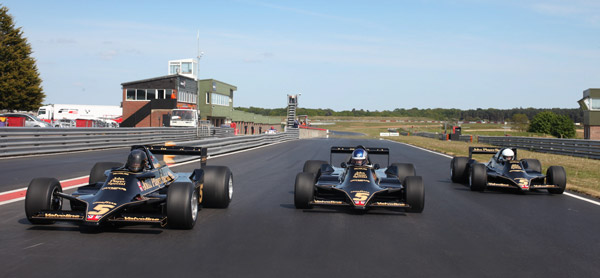 Trio of 79s on track at Snetterton
