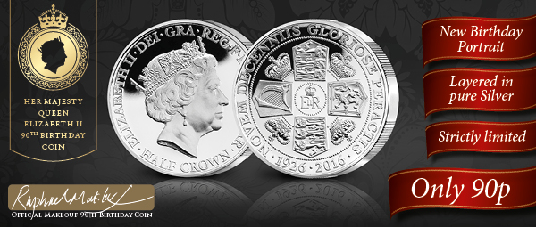 Her Majesty Queen Elizabeth II 90th Birthday Coin