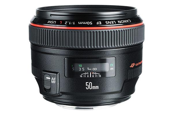 Claim £170 Cashback Canon EF 50mm f/1.2L USM