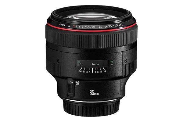 Claim £220 Cashback Canon EF 85mm f/1.2L II USM